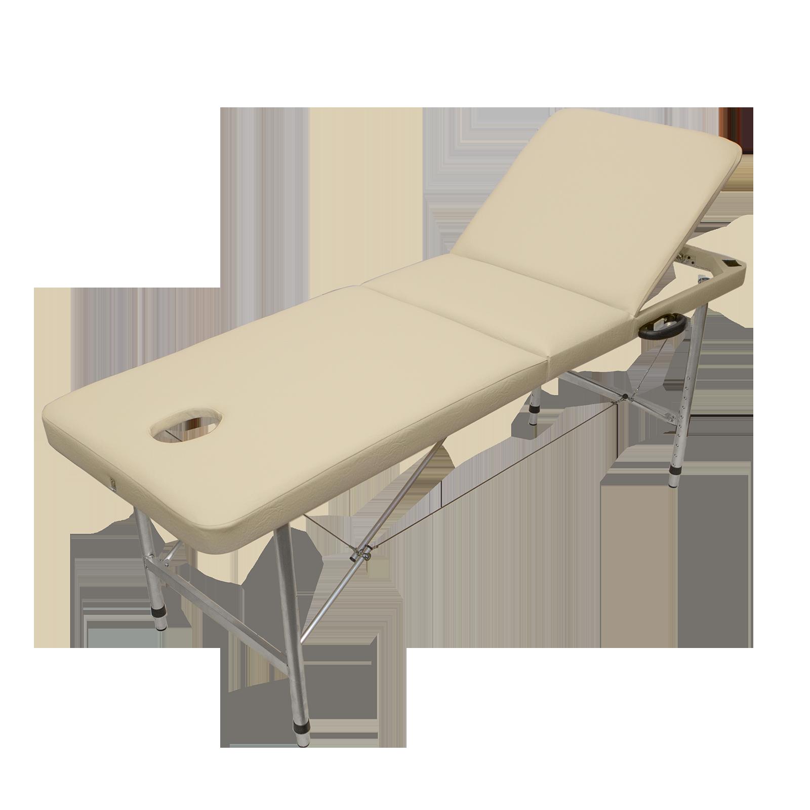 Массажный стол трехзонный регулировка XL